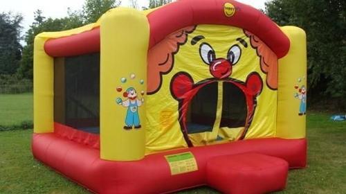Hüpfburg Clown gross 19,4 m²   nur für den privaten Gebrauch - Hüpfburgen - Springburgen