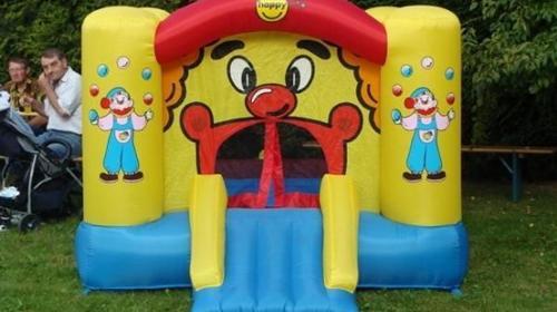"""Hüpfburg """"Clown klein"""" 6,5 m²   -  nur für den privaten Gebrauch"""
