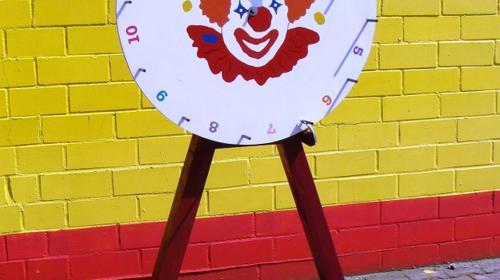 Glücksrad - Gewinnspiel für lebenslustige Kids