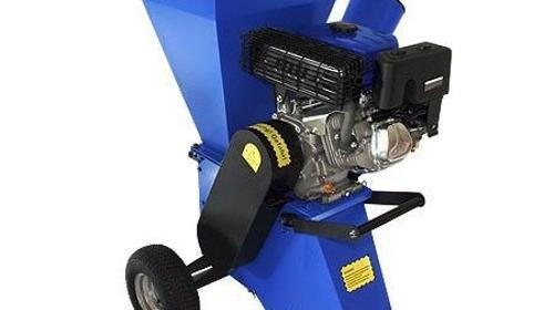 Benzinhäcksler 15 PS bis 100 mm / 10 cm Aststärke für Garten, Acker, Heckenschnitt, Baumschnitt