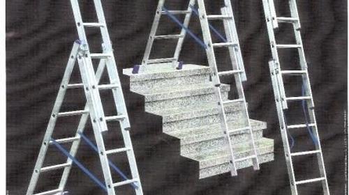 Aluvielzweckleiter - Arbeitshöhe bis 4,60 m