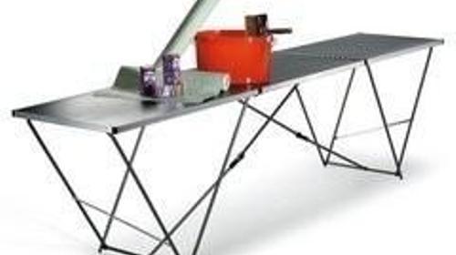 Aluminium Tapeziertisch 3 m - renovieren wie Profis