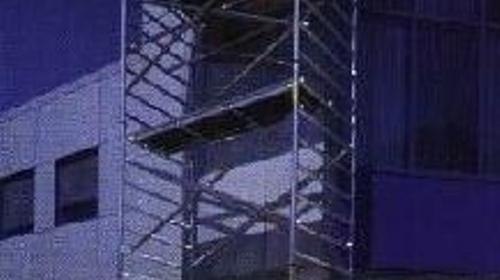 Altrex 5200 D - Fahrgerüst für Außenbereich - Standhöhe 5, 45 m = Arbeitshöhe ca. 7, 45 m