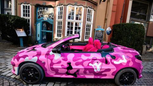 Hochzeitsauto/ Eventfahrzeug/ Fun-Car zu vermieten