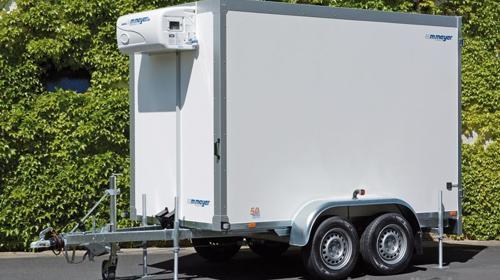 Dr. Dolittel Kühlanhänger 2453 x 1446 x 1800 Kühlwagen Kühlkoffer 2000 kg doppelachser