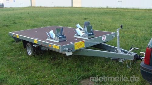 Garfield 3er Motorradanhänger 1500 kg gebremst 100 km/h