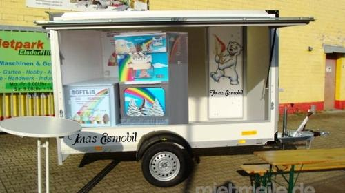 Bimbo Verkaufsanhänger (Leerwagen) 1300 kg - 3010 x 1510 x 1800 - 100 km/h Verkaufswagen Eiswagen Getränkeausschank Süsswaren