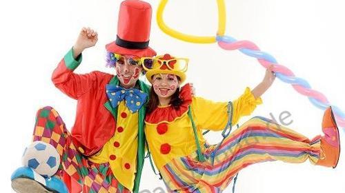Clown buchen, Clown mieten, Kinderparty, Kinderanimation