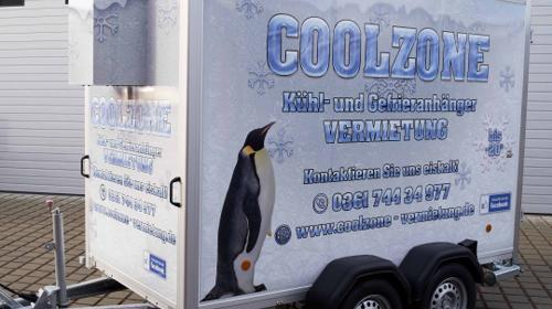 Kühlanhänger, Kühlung, mobile Kühlung, Kühlzelle MIETEN