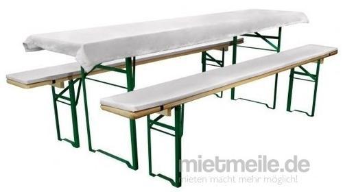 Tischtuch für Festzeltgarnitur Tischwäsche Tischdecke