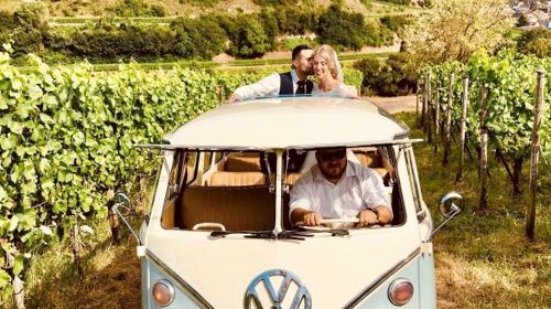 VW Bulli T1 Samba, Hochzeitsauto, Chauffeur/-in, Oldtimer