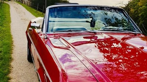 Mustang Cabrio Bj. 68, Hochzeitsauto, Chauffeur/-in, Oldtimer