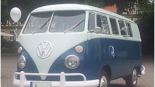 VW Bus T1 - Oldtimer und Hochzeitsauto