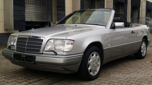 Mercedes 320 CE Cabrio - Hochzeitsauto