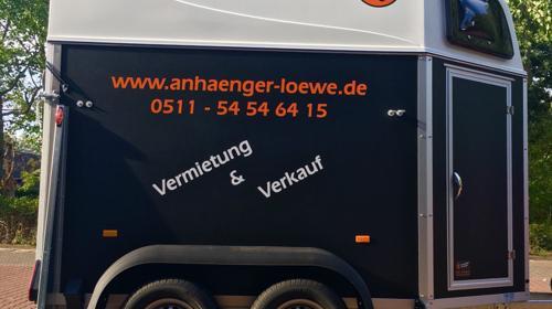 2000 KG Pferdeanhänger zu vermieten, leihen Hannover