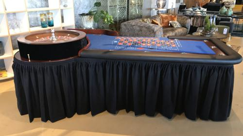 Roulette Tisch - Mobiles Casnio