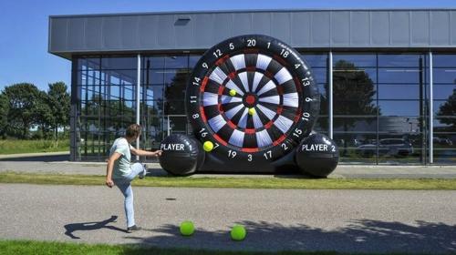 Fussball-Dart mieten am Bodensee - Fussball Dart