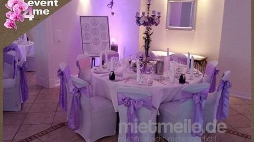 Wir dekorieren Ihre Hochzeit