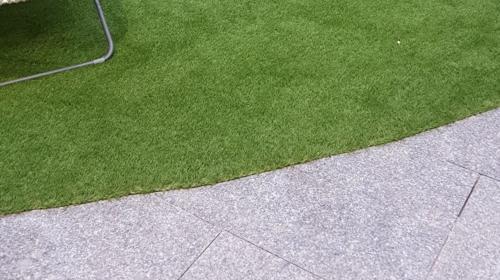 Kunstrasenteppich / Kunstrasen Teppich  Verlegung