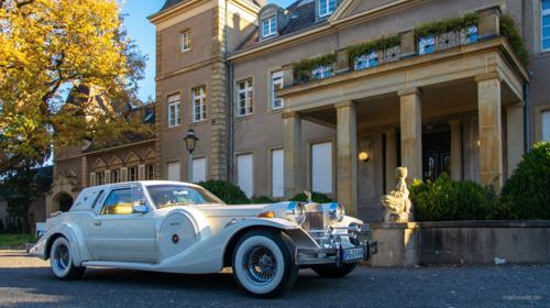 Hochzeitsauto der Extraklasse