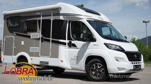 Wohnmobil Carado T132, Teilintegriert. Kompakt und wendig, Ideal für 2 Personen