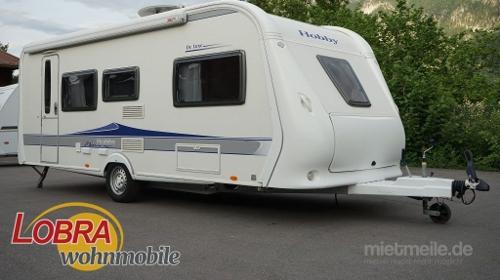 HOBBY WOHNWAGEN 540 KMFE De Luxe! Familienwohnwagen mit VOLLAUSSTATTUNG! Wohwagen für bis zu 6 Personen! TOP!!