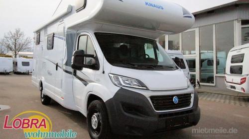 Wohnmobil Knaus Sky Traveller 650 DG, Alkoven Für bis zu 6 Personen!