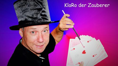 KlaRo der Zauberer - Kinderzauberer - Erwachsene - Gaukler - Zauberkünstler - Ballonmodellieren - Schminken - Luftballone - Seifenblasen