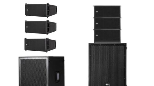 PA-Anlage RCF Sub8004 und HDL 6-A Line Array mieten