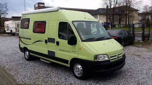 Wohnmobil als Kastenwagen / jetzt Frühbucherrabatt sichern / ab 58 Euro