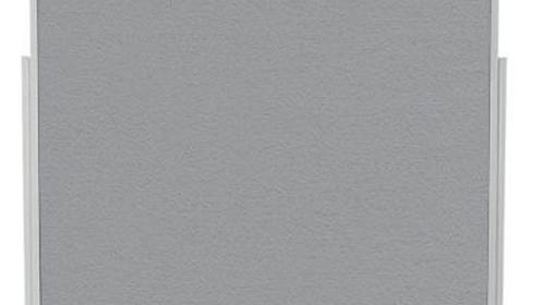Moderationstafel - Pinnwand - Infotafel - Stellwand - Doppelseitig