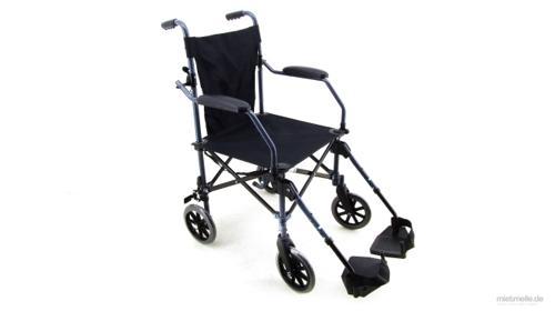Rollstuhl Reiserollstuhl Transportstuhl faltbar