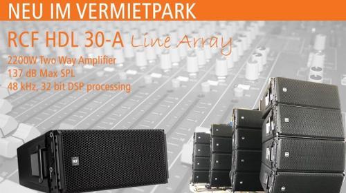 RCF HDL30-A Line Array mieten