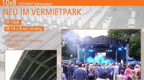 Bühnendach / Bühne / Satteldach mieten für Ihre Veranstaltung