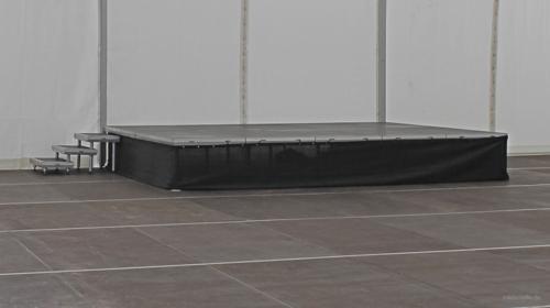 Bühne Podest Bühnenset Bühnenpodest Showbühne Podium 6x4m von Nivtec