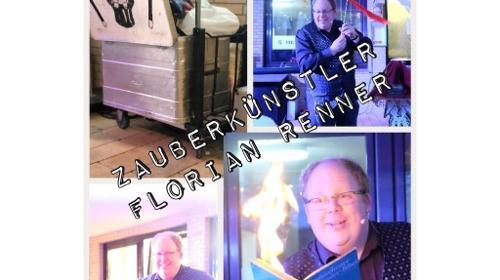 Zauberkünstler Florian Renner