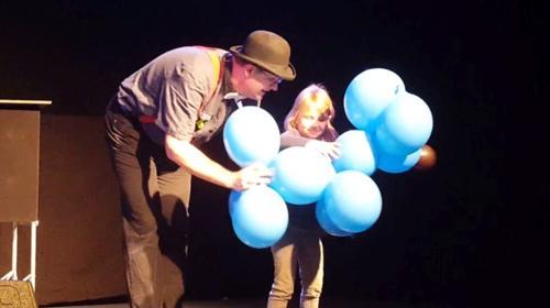 Clown Benjis Ballonshow - Spaß und Ballons