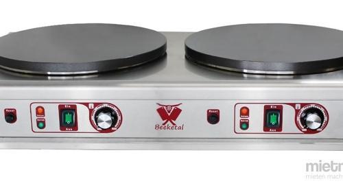 Doppel Crêpes Platten