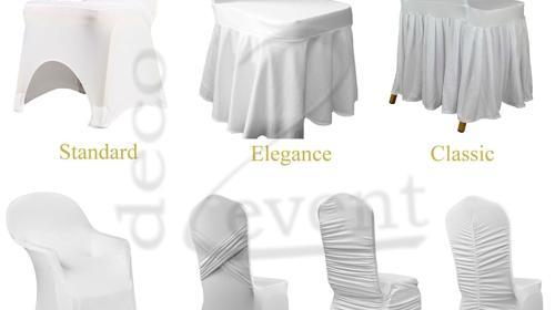 Hussen, Stuhlhussen, Stuhlbezug, VERLEIH, Hochzeitsdekoration, Stretchhussen