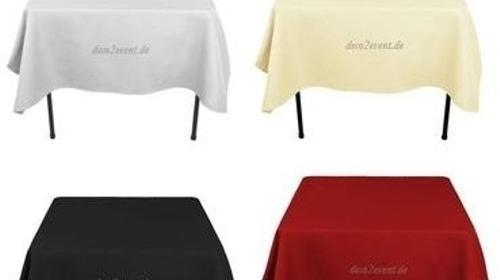 Tischdecken, Tischwäsche,Tischdecken, Tischläufer, Verleih