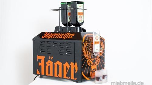 Jägermeister Tapmachine, Jägermeistermaschine, Jägermeister bei – 20 °C eiskalt genießen. Das Highlight auf jeder Party!