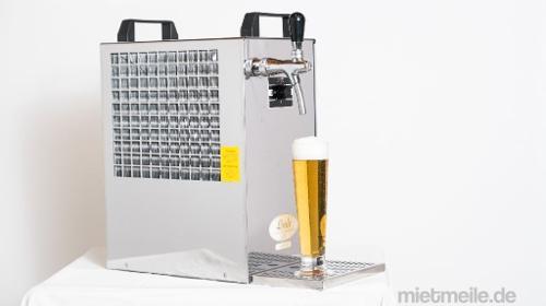 Zapfanlage, Bierzapfanlage, 1-leitig Bier Durchlaufkühler Genießen Sie Ihr Bier frisch gezapft und gut gekühlt. Trockenkühler mit 50 l/h Kühlleistung.