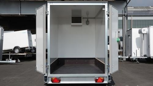 Kühlanhänger 1300 kg 2453 x 1446 x 1800 mm bis plus 2°C Kühlung / 100 km/h