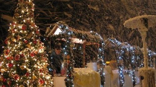 INKL.VERSAND Apres Ski Party - Schneeparty - Schnee-Effektkanone, TOP Effekt für Apres Ski Partys und Winterevents. inkl. Versand,Rückholung und 19% MwSt.