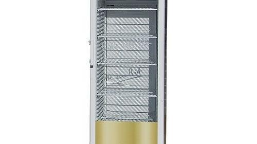 Kühlschrank mit Glastür und Einlegeboden ca. 360 L