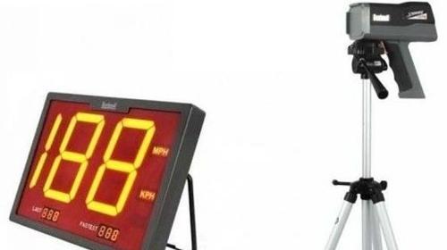 INKL. VERSAND: Geschwindigkeitsmessgerät, SpeedOMeter, professionelles Radargerät inkl. Versand, Rückholung und 19% MwSt.