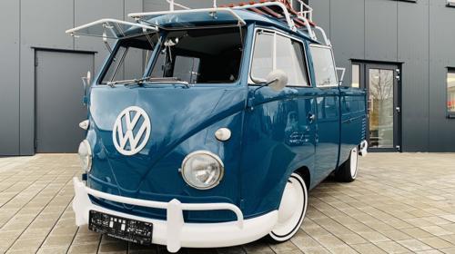 VW Bulli Doppelkabine - Hochzeitsauto mieten AKTION 10% Rabatt