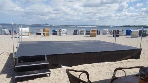 Bühne 10 x 8m Podesterie - Showbühne - Eventbühne - Podeste