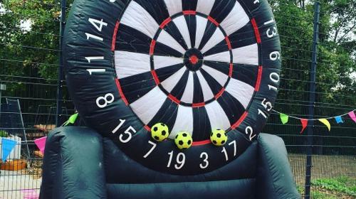 Fußball-Dart | Riesendart