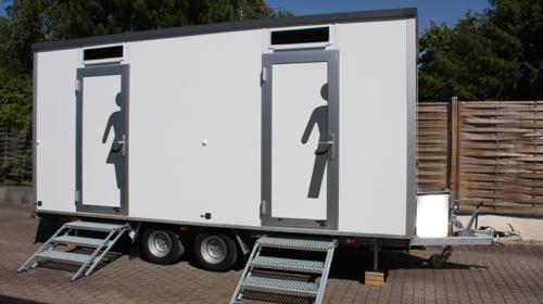 Toilettenwagen Standard+ M